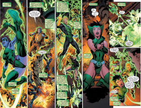 Green Lantern Hal Jordan Rescues The Lost Lanterns