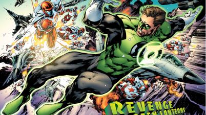 Green Lantern (Hal Jordan) VS Rocket Reds