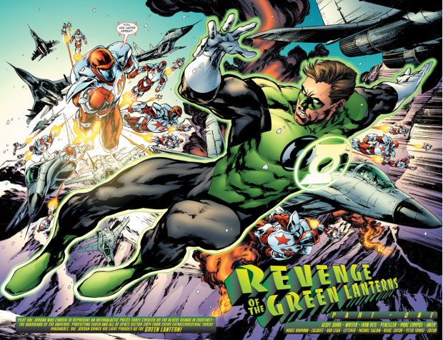 Green Lantern (Hal Jordan) VS Rocket Reds