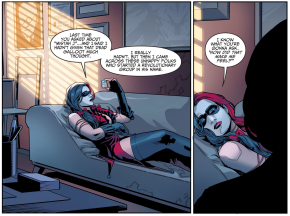 Harley Quinn Gets Treated By Her Psychiatrist (Injustice Gods Among Us)