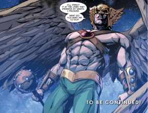 Hawkman Joins Batman's Team (Injustice Gods Among Us)