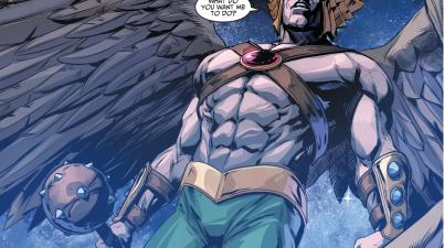 Hawkman Joins Batman's Team (Injustice Gods Among Us)