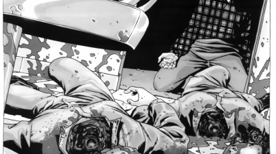 Hershel Greene's Twin Daughters Get Decapitated (The Walking Dead)