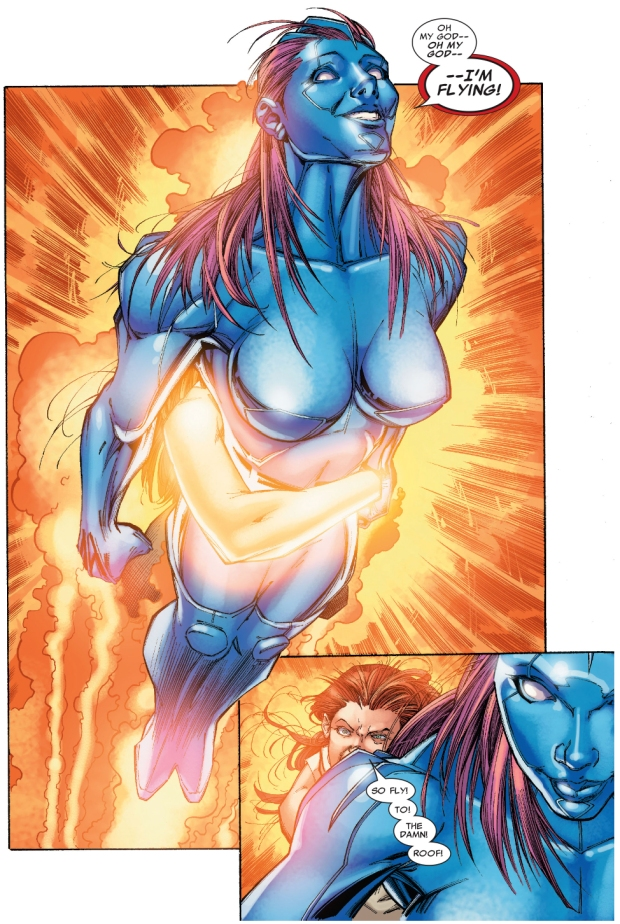 hope summers helps with Laurie Tromette's mutation