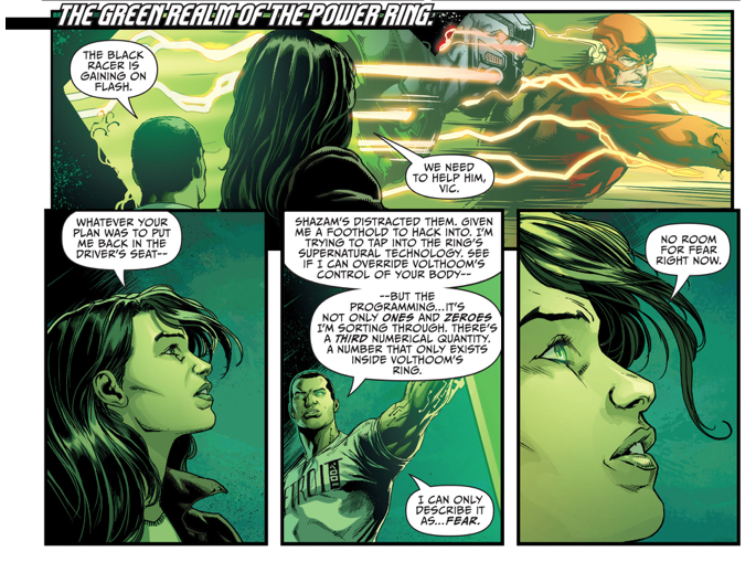 How Jessica Cruz Became A Green Lantern