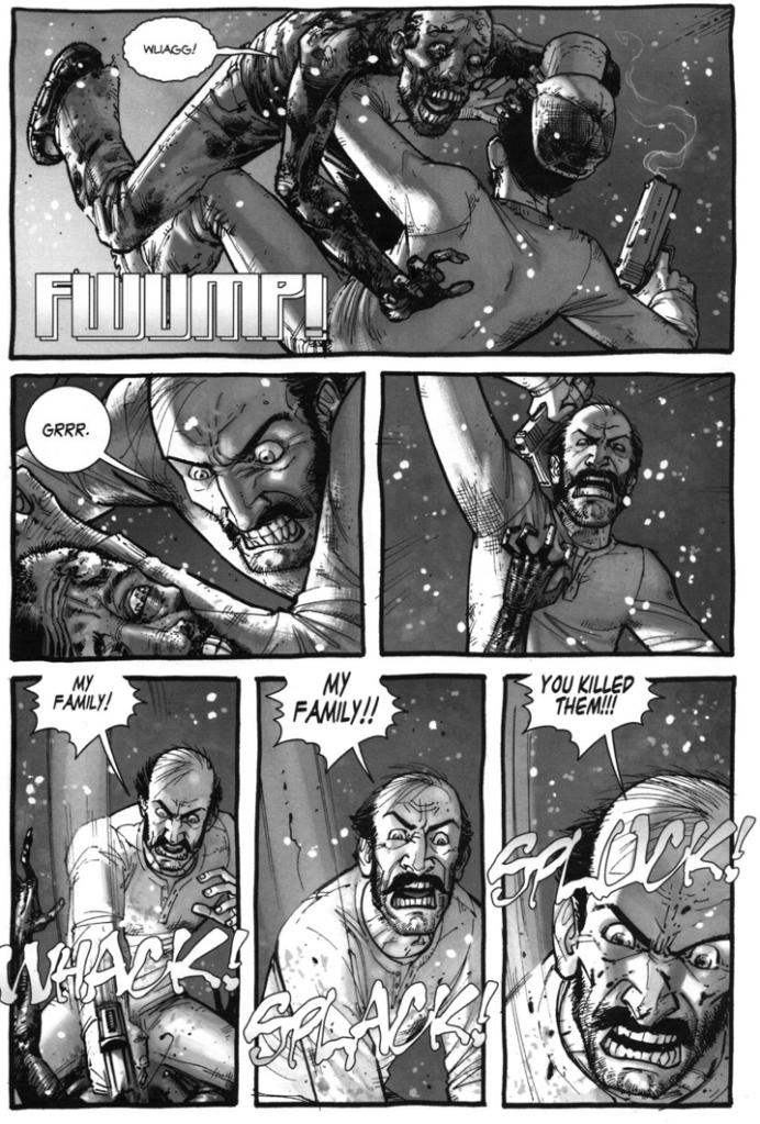 Jim Gets Bitten (The Walking Dead)