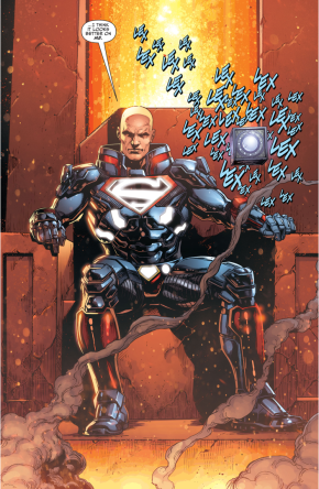 Lex Luthor's Apokolips Costume (Darkseid War)