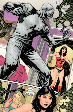 Medusa Attacks Steve Trevor (Earth 1)