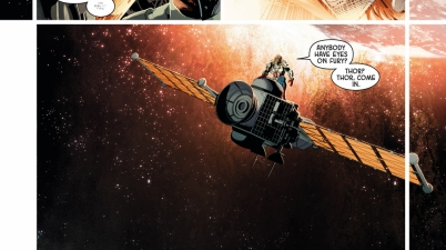 nick fury causes thor to lose control of mjolnir