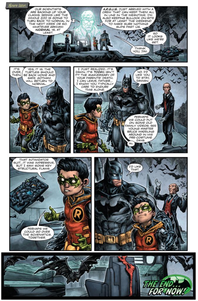 Raphael's Gift To Batman