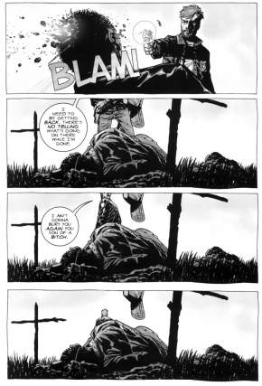 Rick Grimes Kills Zombie Shane Walsh (The Walking Dead)