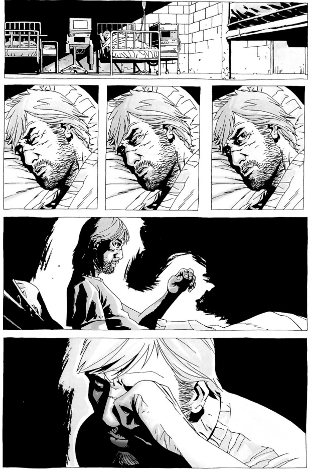 rick grimes loses his right hand