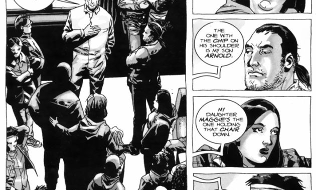 Rick Grimes Meets Hershel Greene And His Family