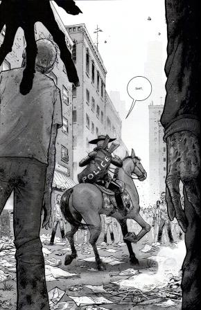 rick grimes's horse gets eaten