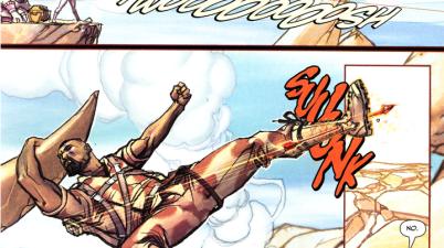 Sabina Kills Achilles (Trials Of Shazam)