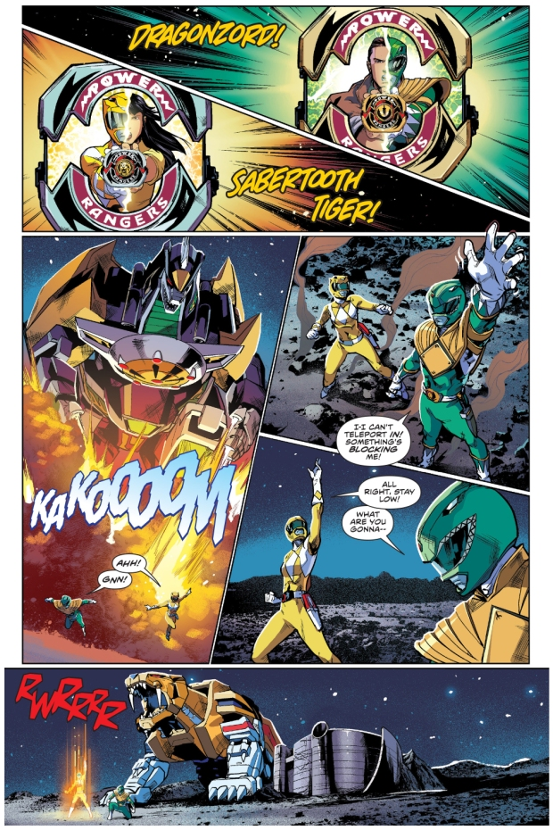 Sabretooth Tiger VS The Dragonzord