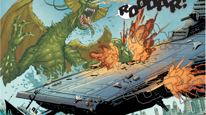 SHIELD Summons Fin Fang Foom