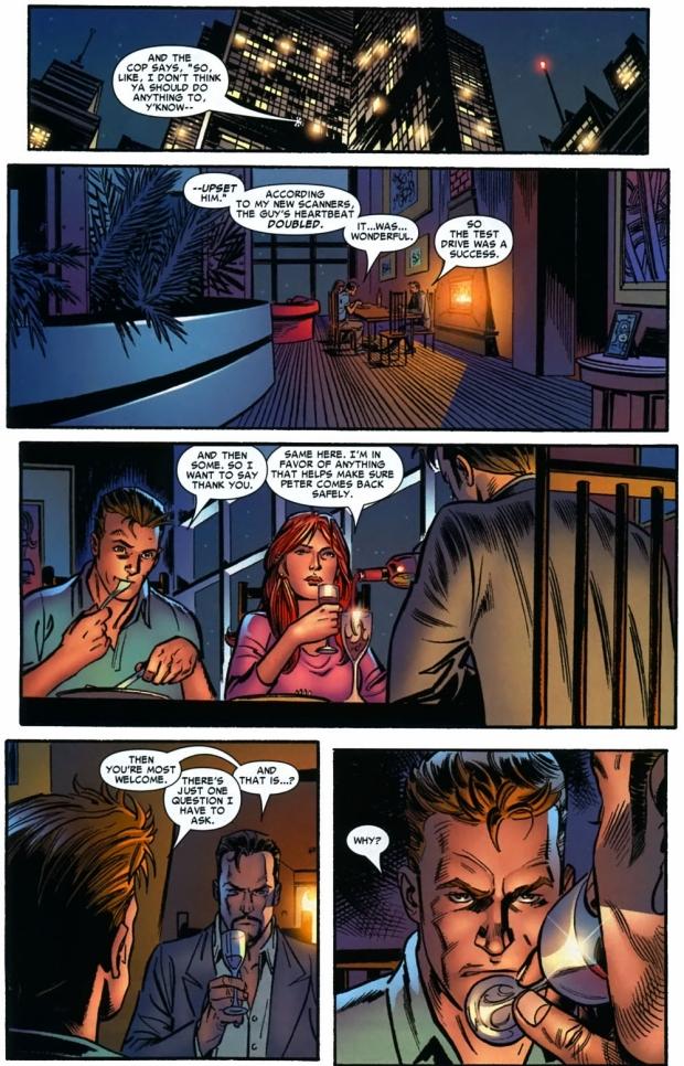 Spider-Man Chooses Iron Man's Side (Civil War)