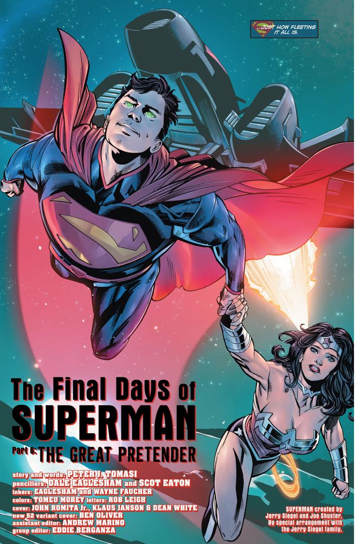ACTION COMICS #52 JOHN ROMITA JR VARIANT SUPERMAN SUPER LEAGUE PT 6 NEW 52