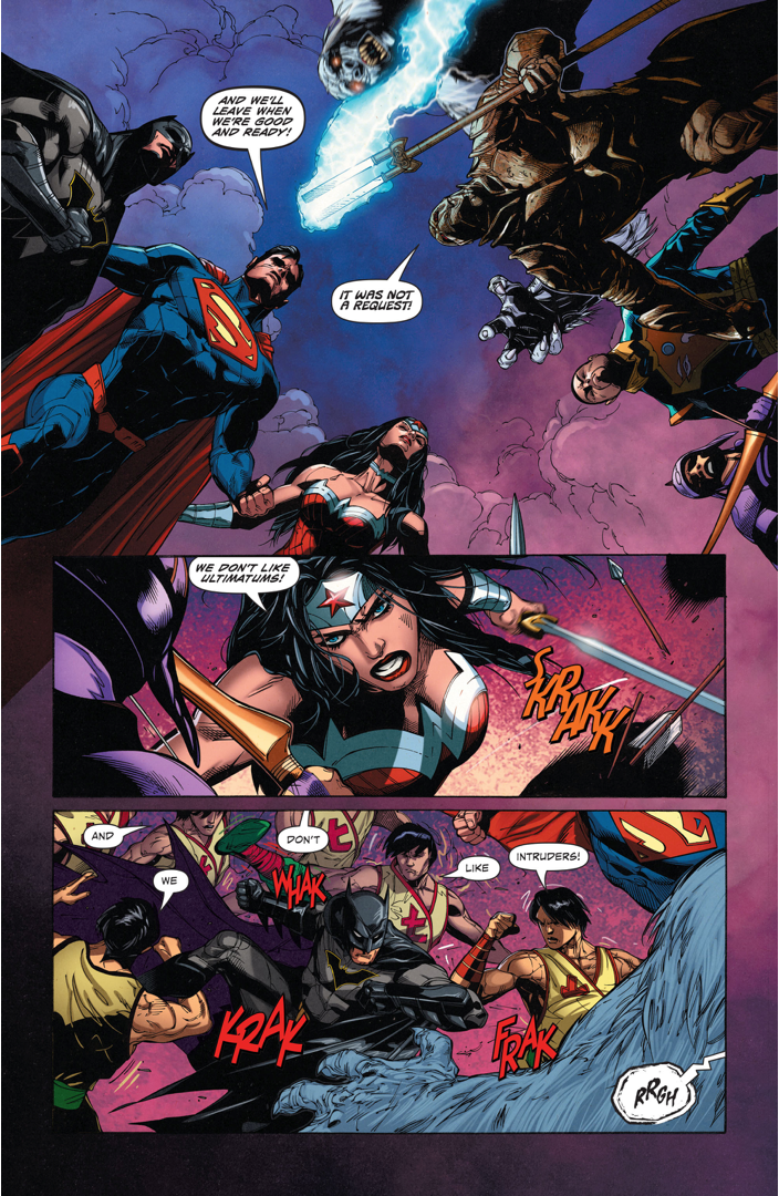 Superman, Batman And Wonder Woman Vs The Great Ten  Comicnewbies-2870