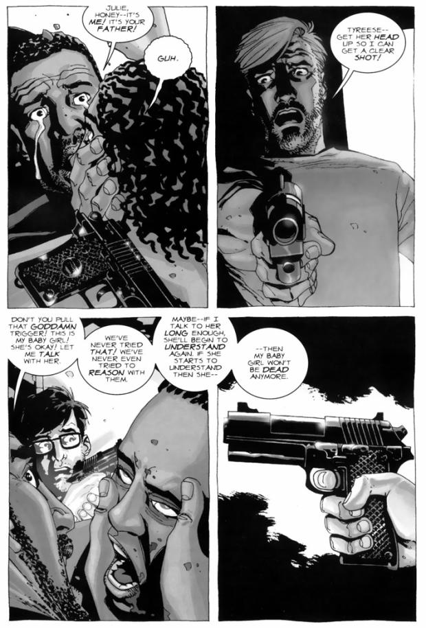 Tyreese Kills His Daughter's Killer (The Walking Dead)