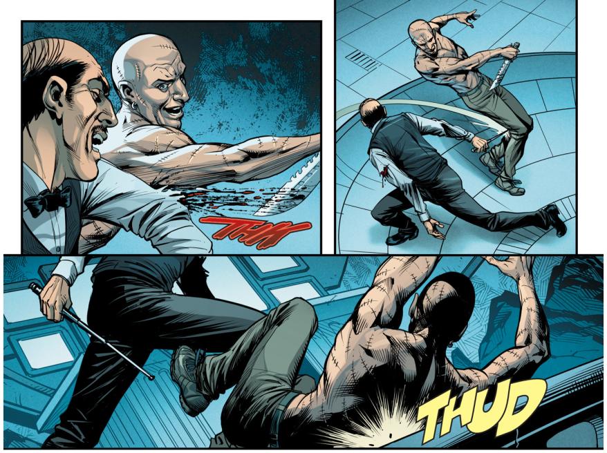 Victor Zsasz VS Alfred Pennyworth (Injustice Gods Among Us)