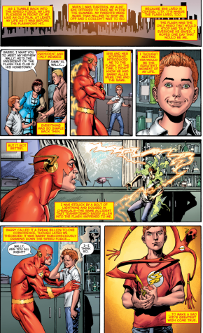 Wally West Narrates His Life Story (Rebirth)