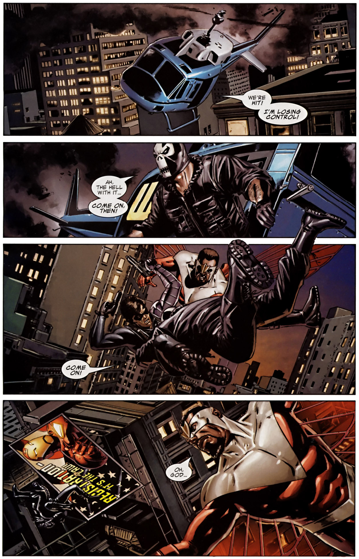 Winter Soldier VS Crossbones (Civil War) | Comicnewbies