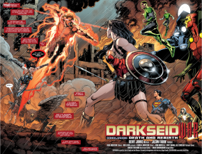 Wonder Woman VS Steve Trevor (Darkseid War)