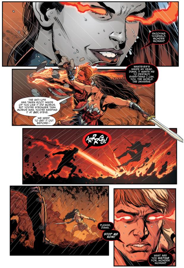 Wonder Woman VS Steve Trevor (Darkseid War)