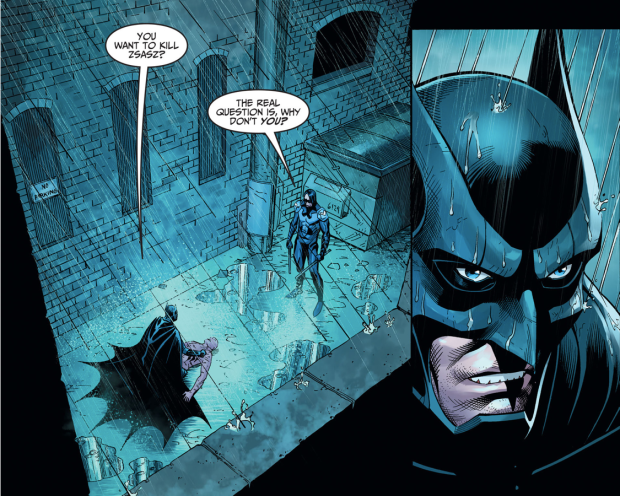 Batman VS Nightwing Damian Wayne (Injustice Gods Among Us ...