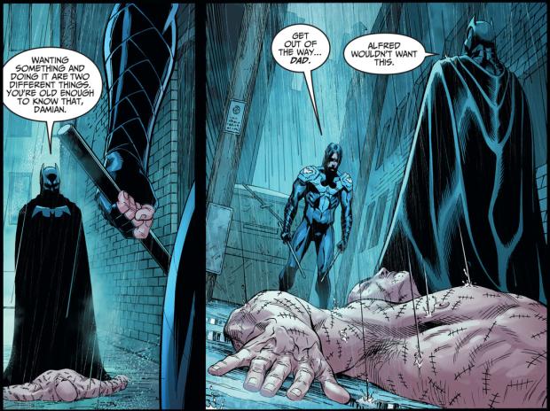 Batman VS Nightwing Damian Wayne (Injustice Gods Among Us ...