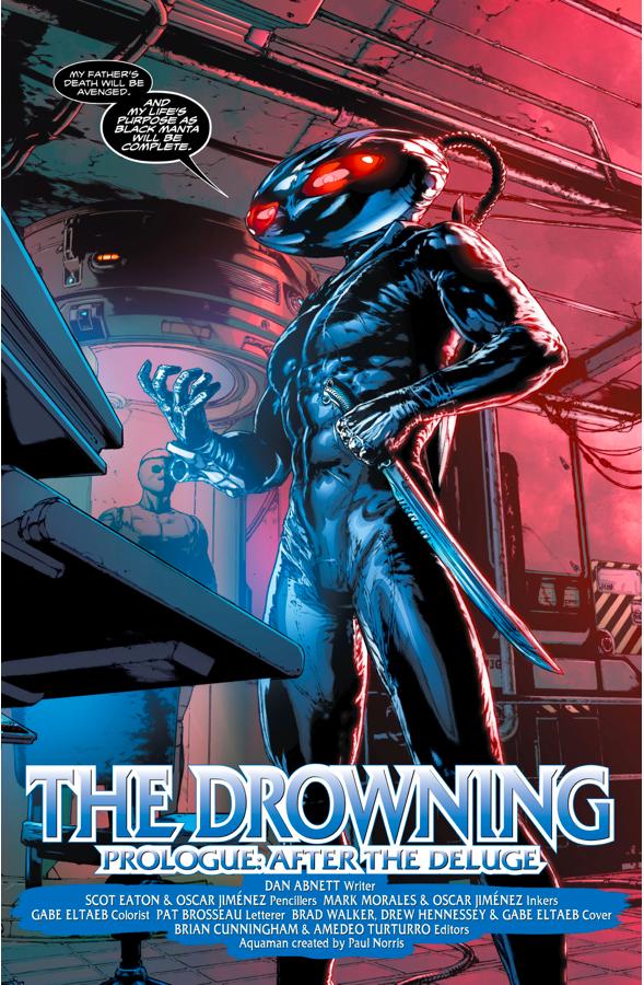 Black Manta (Aquaman - Rebirth)