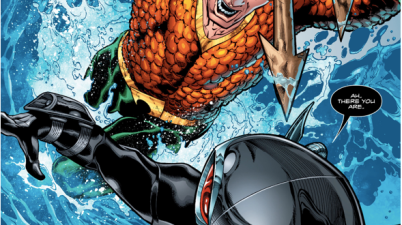 Black Manta VS Aquaman And Mera (Aquaman Vol. 8 #1)
