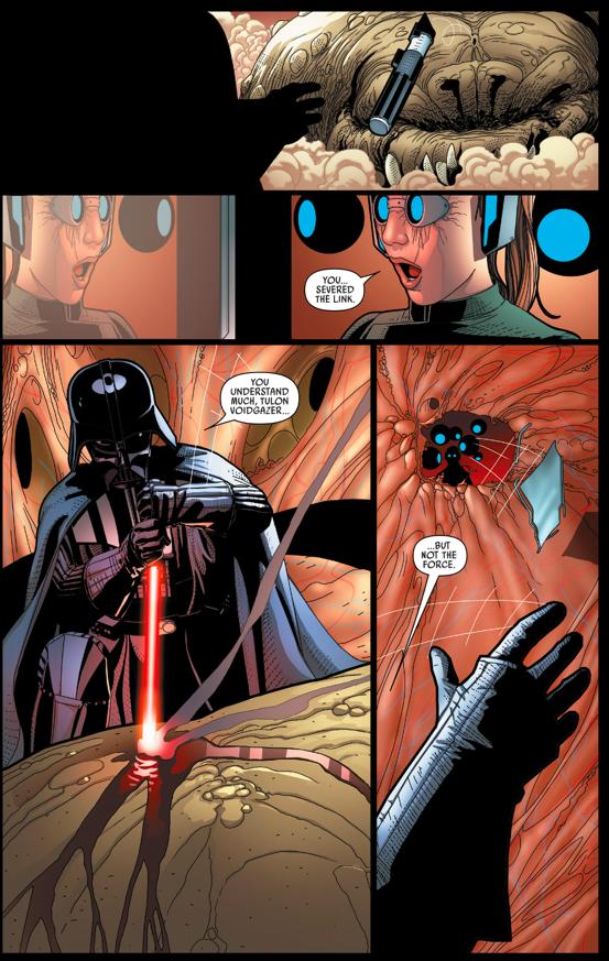 Darth Vader VS A Cyborg-Rancor