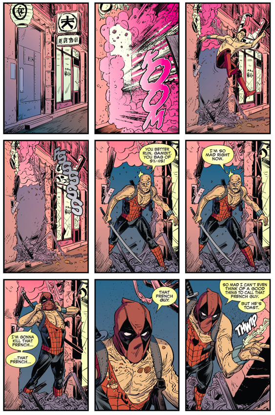 Deadpool VS Gambit