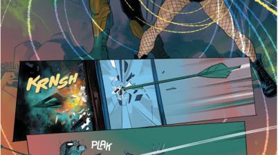 Green Arrow And Black Canary VS The Underground Men (Rebirth)