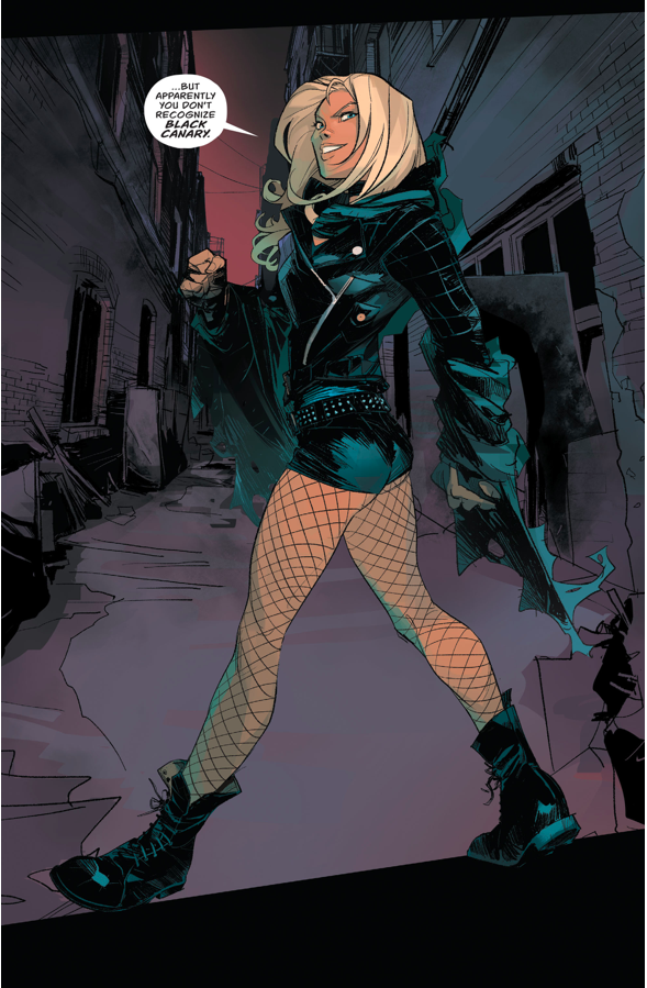 Green Arrow Meets Black Canary Rebirth Comicnewbies