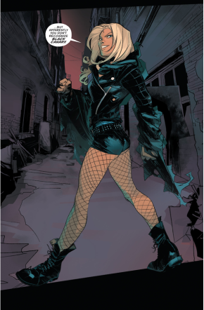 Green Arrow Meets Black Canary (Rebirth)