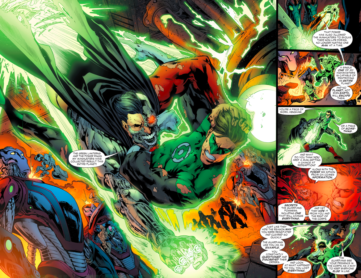 the gallery for gt superman vs parallax