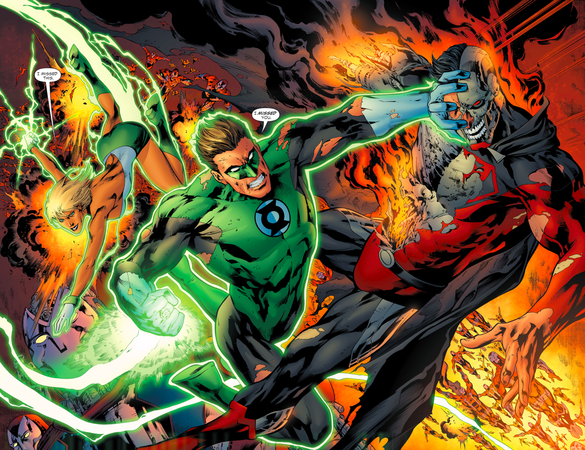 Superman vs green lantern - photo#12