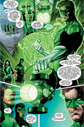 Green Lantern Hal Jordan Assigns Earth To Jessica Cruz And Simon Baz
