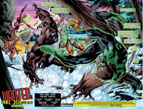 Green Lantern Hal Jordan VS The Global Guardians