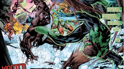 Green Lantern Hal Jordan VS The Global Guardians