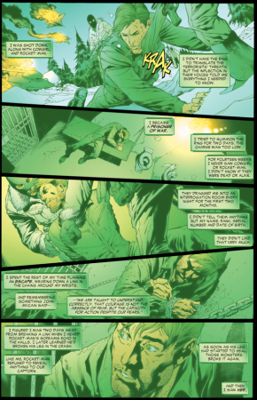 Hal Jordan's Captivity With Chechnyan Terrorists