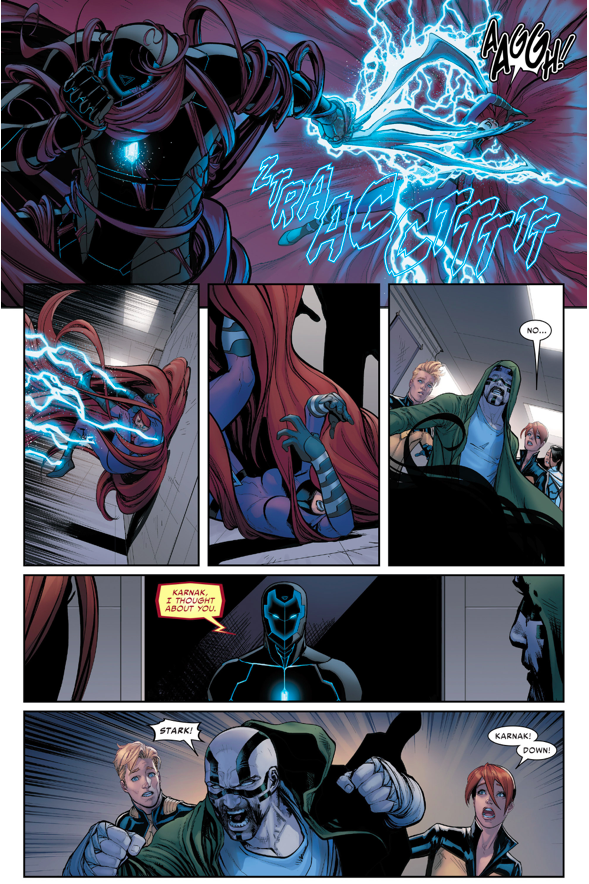 How Iron Man Started A War With The Inhumans (Civil War II)