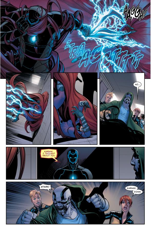 How Iron Man Started A War With The Inhumans (Civil War II)