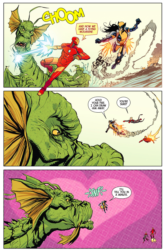 How Wolverine (Laura Kinney) Dealt With Fin Fang Foom