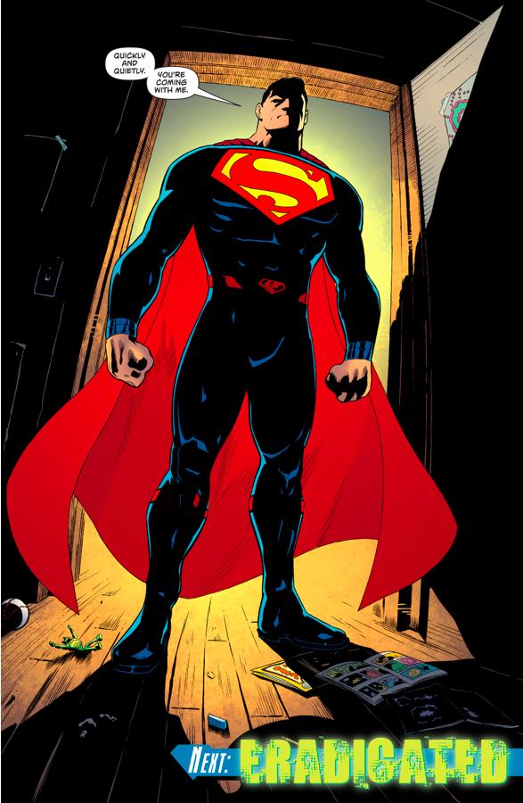 jonathan kent eavesdrop on superman  batman and wonder woman