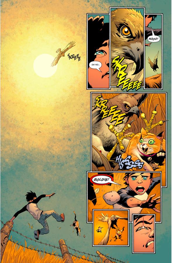 Jonathan Kent Struggles With His Kryptonian Powers
